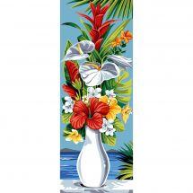Canevas Pénélope  - SEG de Paris - Vase exotique