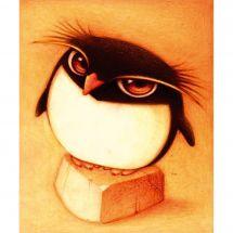 Kit de broderie Diamant - Diamond Painting - Pingouin