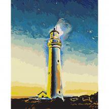 Kit de peinture par numéro - Wizardi - Gardien de la mer