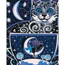 Kit de peinture par numéro - Wizardi - Nuit magique