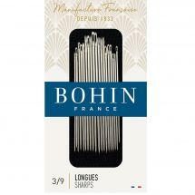 Aiguilles à coudre - Bohin - Assortiment d'aiguilles longues à coudre