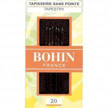 Aiguilles à tapisser - Bohin - Aiguilles à tapisseriemain n°20