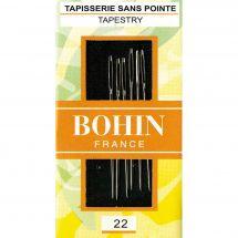 Aiguilles à tapisser - Bohin - Aiguilles à tapisseriemain n°22