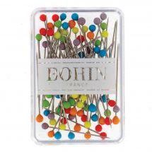 Epingles - Bohin - Boîte de 80 épingles à tête de verre Murano