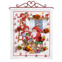 Kit de bannière à broder - Anchor - Cadeaux de Noël