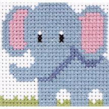 Kit point de croix pour enfant - Anchor - Elephant