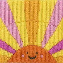 Kit de canevas pour enfant - Anchor - Rayons de soleil