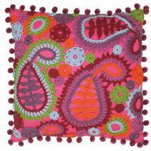 Kit de coussin à crocheter - Anchor - Coussin à crocheter motifs cachemire