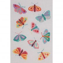 Kit point de croix - Anchor - Papillons