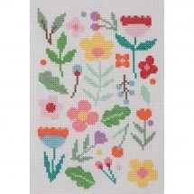 Kit point de croix - Anchor - Diffusion de fleurs
