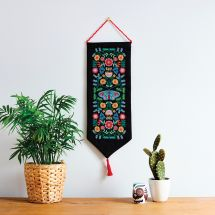 Kit de bannière à broder - Anchor - Folklore floral