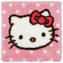 Kit de tapis point noué - Anchor - Hello Kitty