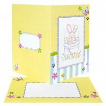 Kit de carte à broder  - Anchor - Pâques