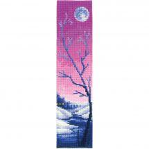 Kit de marque-pages à broder - Andriana - Crépuscule lilas