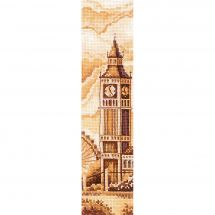 Kit de marque-pages à broder - Andriana - Londres