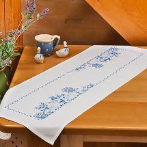 Kit de chemin de table à broder - Duftin - Gardienne d'oies