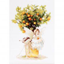 Kit point de croix - Luca-S - Elfe et mandarinier