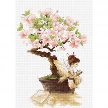 Kit point de croix - Luca-S - Elfe et Sakura