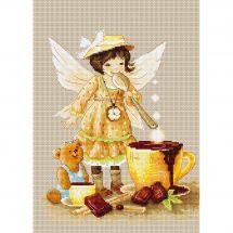 Kit point de croix - Luca-S - Fée chocolat
