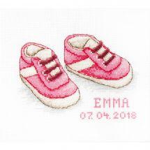 Kit point de croix - Luca-S - Les chaussures de bébé