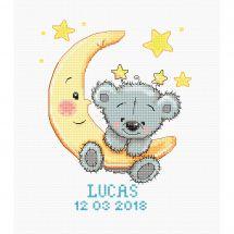 Kit point de croix - Luca-S - Lucas