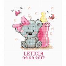 Kit point de croix - Luca-S - Leticia