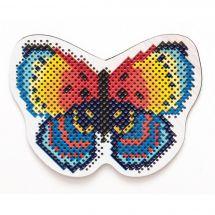 Kit de magnet à broder - RTO - Papillon