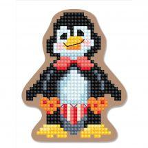 Kit de magnet à broder - RTO - Pingouin