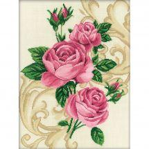 Kit point de croix - RTO - Roses