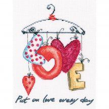 Kit point de croix - RTO - Cintre love