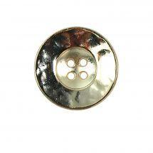 Boutons 4 trous - LMC - Lot 2 boutons - 22 mm