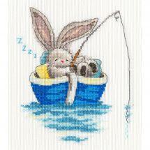 Kit point de croix - Bothy Threads - Parti pêcher