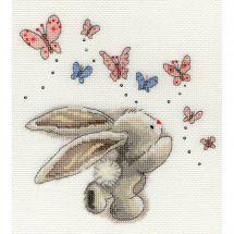 Kit point de croix - Bothy Threads - Papillons