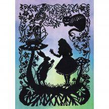 Kit point de croix - Bothy Threads - Alice au Pays des Merveilles