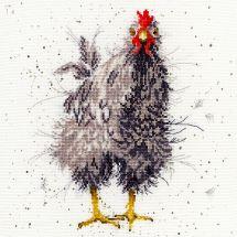 Kit point de croix - Bothy Threads - Poule curieuse