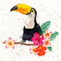 Kit point de croix - Bothy Threads - Affection de toucan