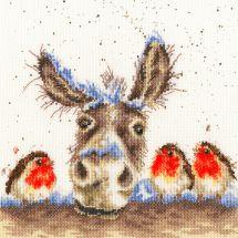 Kit point de croix - Bothy Threads - Ane de Noël