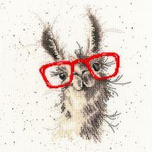 Kit point de croix - Bothy Threads - Pas de cause pour un lama