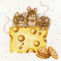 Kit point de croix - Bothy Threads - Crackers sur le fromage