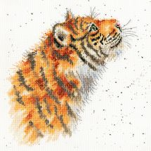 Kit point de croix - Bothy Threads - Tigre