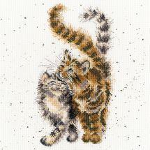 Kit point de croix - Bothy Threads - Caresses de chats