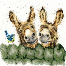 Kit point de croix - Bothy Threads - Hee haw