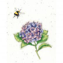 Kit point de croix - Bothy Threads - L'abeille occupée