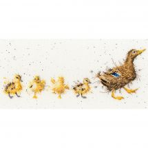 Kit point de croix - Bothy Threads - Maman canard