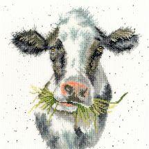 Kit point de croix - Bothy Threads - La laitière