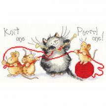 Kit point de croix - Bothy Threads - Tricotage