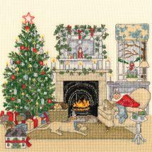 Kit point de croix - Bothy Threads - Réveillon de Noël