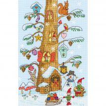 Kit point de croix - Bothy Threads - Les assistants du père Noël