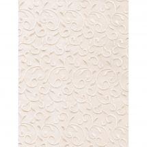 Toile en coupon - Brod'star - Coupon arabesques - 30 x 40 cm
