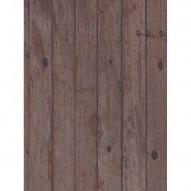 Toile en coupon - Brod'star - Coupon motif planches - 30 x 40 cm